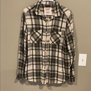 Mossimo plaid shirt